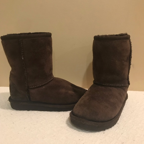 UGG Other - Girls Toddler Classic Brown Uggs Sz 11